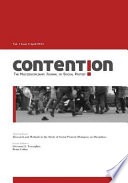 Contention  The Multidisciplinary Journal of Social Protest