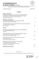 Anthropology   Education Quarterly
