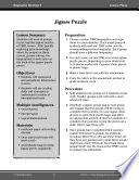 Biography Strategy Lesson Jigsaw Puzzle