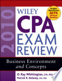 Wiley CPA Exam Review 2010  Business Environment and Concepts