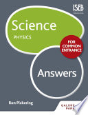 Science for Common Entrance  Physics Answers