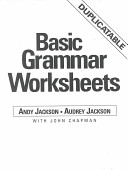 Basic Grammar Worksheets