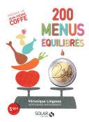 illustration 200 menus équilibrés à moins de 2 euros