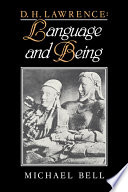 D  H  Lawrence  Language and Being