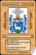 Die Adlige Polnische Familie Hippocentaurus The Noble Polish Family Hippocentaurus