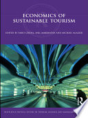 Economics Of Sustainable Tourism : of its fastest growing economic sectors helping to...