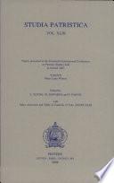 Studia Patristica: Augustine; Other Latin writers (v. 43)
