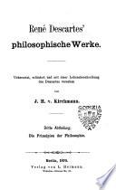 Rene Descartes philosophische Werke