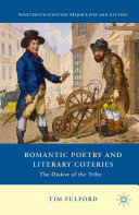 download ebook romantic poetry and literary coteries pdf epub