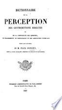 Dictionnaire De La Perception Des Contributions Directes Et De La Comptabilit Des Communes Et Des Associations Syndicales
