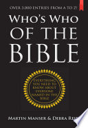 Who s Who of the Bible