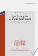Quedlinburg im 14. und 16. Jahrhundert