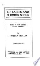 Lullabies and Slumber Songs Book PDF