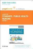 Public Health Nursing  Pageburst E book on Vitalsource