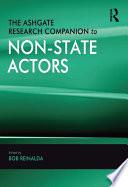 The Ashgate Research Companion To Non State Actors book
