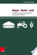 Biogas – Macht – Land