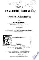 Traité d'anatomie comparée des animaux domestiques