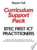 BTEC First ICT Practitioners Curriculum Support Pack
