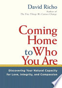 Coming Home to Who You Are Book PDF