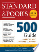 Standard and Poor s 500 Guide  2012 Edition