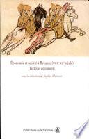 Economie et société à Byzance (VIIIe-XIIe siècle)