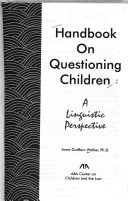 Handbook on Questioning Children