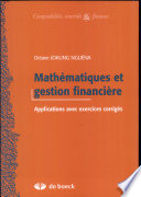 Mathématiques et gestion financière