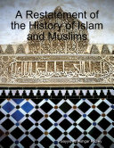 download ebook a restatement of the history of islam and muslims pdf epub