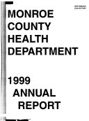 Monroe County Health Department Annual Report