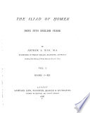 The Iliad of Homer  Books 1 12