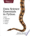 Data Science Essentials In Python