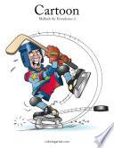 Cartoon-Malbuch für Erwachsene 2
