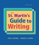 The St  Martin s Guide to Writing