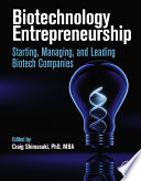 Biotechnology Entrepreneurship
