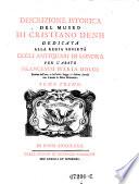 Descrizione istorica del museo di Cristiano Denh dedicata alla regia societa degli antiquari di Londra