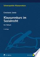 Janda, Klausurenkurs im Sozialrecht