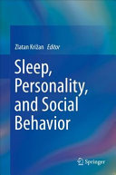 Sleep, Personality, and Social Behavior