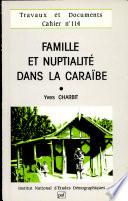 illustration Famille et nuptialité dans la Caraïbe