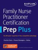 Family Nurse Practitioner Certification Prep Plus