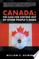 Canada  the Case for Staying out of Other People   S Wars