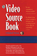 The Video Source Book A Guide to Programs Currently Available on Video in the Areas Of: Moives/Entertainment/ General Interest/ Eucation Sports/Recreation/ Fine Arts/Health