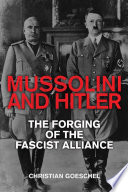 Mussolini and Hitler Book PDF