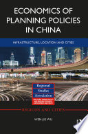 Economics of Planning Policies in China Albeit Geographically Uneven Local And