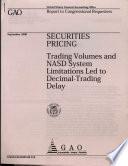 Securities Pricing