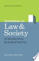 Invitation to Law and Society  Second Edition
