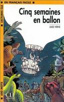 illustration du livre Cinq semaines en ballon