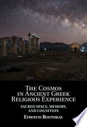 The Cosmos In Ancient Greek Religious Experience