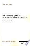 illustration Machiavel en France