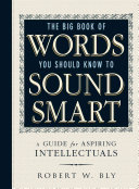 Book The Big Book Of Words You Should Know To Sound Smart