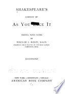 Shakespeare s Comedy of As You Like it